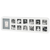 Baby Art FR002WHO First Year Print Frame - White
