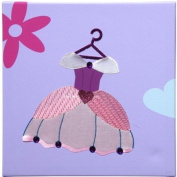 Princess Dress Wall Art - Her Majesty Collection