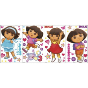 Blue Mountain Wallcoverings GAPP1825 Dora the Explorer Self-Stick Appliqué