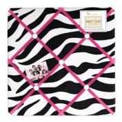 Funky Zebra Fabric Memory/Memo Photo Bulletin Board by Sweet Jojo Designs