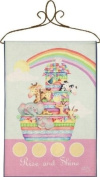 Izzy Rise and Shine Noah's Ark Nursery Blanket