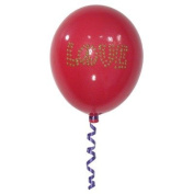 Girly Chic Permanent Wall LOVE Balloon Colour