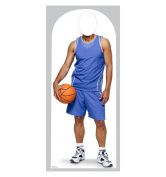 Basketball Player Stand-in - Lifesize Cardboard Cutout