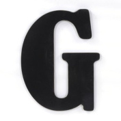 Munch Oversized Black Wood Letters, G