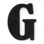 Munch Oversized Black Wood Letters, G