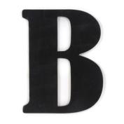 Munch Oversized Black Wood Letters, B