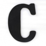 Munch Oversized Black Wood Letters, C
