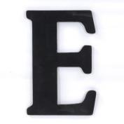 Munch Oversized Black Wood Letters, E