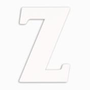 Munch Oversized White Wood Letters, Z
