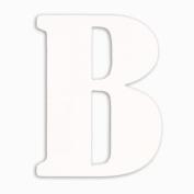 Munch Oversized White Wood Letters, B