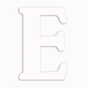 Munch Oversized White Wood Letters, E