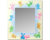 Dolce Mia Dancing Bears Nursery Mirror