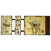Secret Garden Paper Laminated to Wood Wall Art by Studio Arts