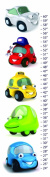 Cars Canvas Growth Chart