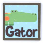 Munch Canvas, Alligator