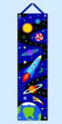Out Of This World Blue Growth Chart w Space Theme