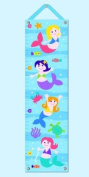 Mermaids - Growth Chart with Tacks and Hanging Ribbon