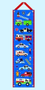 Kids Growth Chart w Hanging Ribbon - Heroes Collection