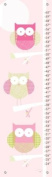Oopsy Daisy Three Little Owls Growth Chart by Patchi Cancado, 30.5cm by 106.7cm