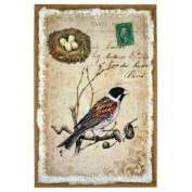 Bluebird Wall Art Print on Burlap by Studio Arts