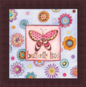 Barewalls Wall Decor by Bernadette Deming, Butterfly Kisses