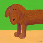 Oopsy Daisy Rufus Stretched Canvas Wall Art by Max Grover, 35.6cm by 35.6cm