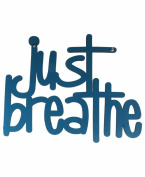 Just Breathe Wall Art, Teal