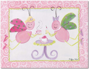 Doodlefish Gallery-Wrapped 50.8cm x40.6cm Wall Art, Tea Party