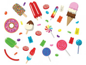 Candy Jumbo Fabric Wall Decals