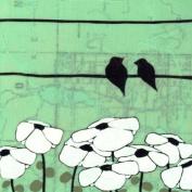 Oopsy Daisy Mud Lake Stretched Canvas Wall Art by Rachel Austin, 45.7cm by 45.7cm