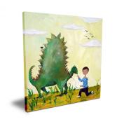 Cici Art Factory Dino, 40.6cm x 40.6cm