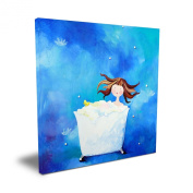 Cici Art Factory 40.6cm x 40.6cm Bathtime