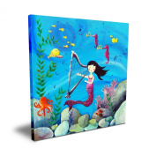 Cici Art Factory 40.6cm x 40.6cm Brunette Mermaid