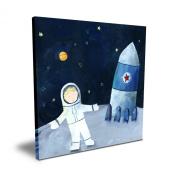 Cici Art Factory 40.6cm x 40.6cm Man on the Moon