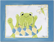 Doodlefish Gallery-Wrapped 50.8cm x40.6cm Wall Art, Frog and Turtle