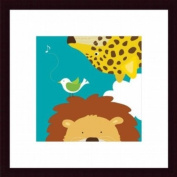 Barewalls Wall Decor by Yuko Lau, Safari Leopard and Lion