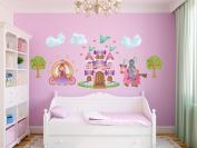 Princess Jumbo Fabric Wall Decals