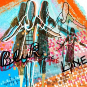 Wheatpaste Art Collective Blur the Line Stretched Canvas Wall Art by Linda Ketelhut, 61cm by 61cm