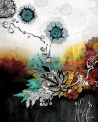 Wheatpaste Art Collective Frozen Dreams Stretched Canvas Wall Art by Iveta Abolina, 61cm by 76.2cm