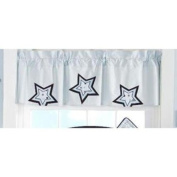 Beansprout Mod Star Valance, Blue