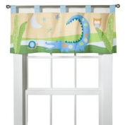 Crocodile Rock Window Valance by Sumersault