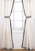 Elsa Drapes - 2 Panels w/ Tiebacks - 213.4cm x 106.7cm