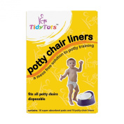 The Cumberland Companies LLC TT-001 Tidy Tots disposable potty chair liners - Pack of