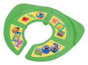 Sesame Street Framed Friends Green Folding Travel Potty Seat
