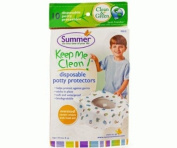 Summer Infant Keep Me Clean Disposable Potty Protectors 10-Pack