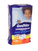GoodNites Boys Nighttime Training Underpants - L/XL