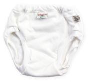 Imse Vimse Organic Cotton Training Pants, 3-4 years, 35-44 lbs. / 16-20 kg WHITE