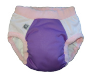 Super Undies Bedwetting Pants, Overnight Nighttime Underwear Purple Size 4 (XXL) 9-12 yr For Kids That Wet The Bed