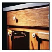 Adhesive Mount Cabinet Lock