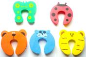 Door Stoppers / Baby Finger Pinch Guard - Set of 5 pcs